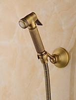 cheap -Bidet Faucet Antique Copper Toilet Handheld bidet Sprayer Self-Cleaning Brass- 1pc
