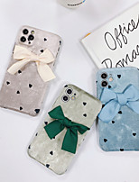 cheap -Case For iPhone 11 Shockproof Back Cover Solid Colored / 3D Cartoon TPU For Case 7/8/7P/8P/X/XS/XS MAX/SE 2020/11 PRO/11PRO MAX