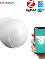 cheap -Tuya Smart life Zigbee PIR Sensor Motion Sensor Smart Life APP Wireless connect with Gateway Smart security alarm system