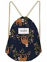 cheap -sloth string sack bag unisex rucksack for travel