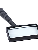 cheap -Magnifier Handheld Square Reading Magnifier Magnifying Glass Loupe 84026