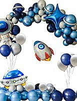 cheap -birthday decorations, space balloon garland, space planet party, out of this world, outer space party, astronaut balloon, blast off, sloar system party