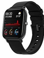 cheap -P9 1.54 inch Smart Watch Men Full Touch Fitness Tracker Blood Pressure Smart Clock Women Bluetooth call Smartwatch