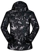 cheap -men's ski jacket outdoor waterproof windproof coat snowboard mountain rain jacket sjm006 graffiti black us s