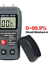 cheap -0-99.9% Two Pin Digital Wood Moisture Meter Wood Moisture Hygrometer Large LCD Display Wood Moisture Detector