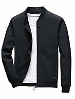 cheap -men's two rose print outdoor windproof hoodie zip-up lightweight windbreaker plus size (black 1, x-large)