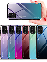 cheap -Case For Samsung Galaxy Note 9 / Samsung Note 10 / Galaxy Note 20 Shockproof Back Cover Color Gradient TPU