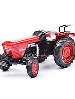 cheap -KDW 1:18 Plastic Alloy Tractor Engineering Vehicle Alloy Car Model Deformation Simulation All Adults Kids Car Toys