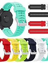cheap -For Garmin Forerunner 235 Band Silicone Strap Bracelet For Garmin Forerunner 220/230/235/620/630/735XT/235 Lite Band