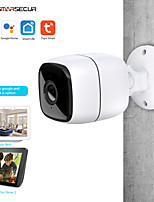 cheap -Tuya Smart life WiFi IP Camera 1080P Home Security Outdoor Camera Night Vision Infrared Two Way Audio IP66 Waterproof