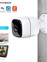 Недорогие -Tuya smart life wifi ip-камера 1080p домашняя безопасность наружная камера ночного видения инфракрасная двусторонняя аудио ip66 водонепроницаемый