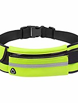 cheap -running waist belt with water bottle holder/high-capacity with reflective strip/for jogging running walking cycling hiking fit for men and women/comes in 5 stylish colors (green)