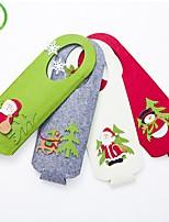cheap -Cartoon Felt Stickers Christmas Wine Set