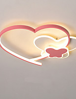 cheap -40/50 cm Heart Shape Cartoon Style Ceiling Lamp Pink Love Girl Bedroom Lamp Home Lighting Decoration Ceiling Lamp