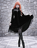 cheap -Plague Doctor Goth Girl Gothic Goth Subculture Vacation Dress Party Costume Masquerade Women's Costume Black Vintage Cosplay Party Halloween