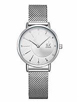 cheap -simplicity stylish mesh band women watch elegant mesh band women watches lady casual wristwatch