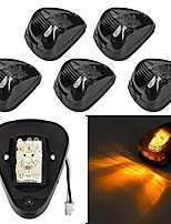 cheap -10-pack amber led cab pickup truck roof top marker light running lamps clearance light lamp universal for truck pickup 4x4 suv