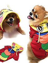 cheap -dog hoodie funny outfit pet clothes sweater winter clothes (medium)