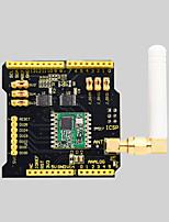cheap -Keyestudio LoRa Wireless Expansion Board RFM69HCW 868mhz Black and Eco-friendly