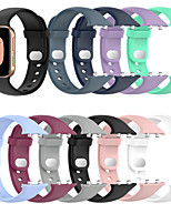 cheap -Watch Band for OPPO Watch 41mm / OPPO Watch 46mm OPPO Sport Band Silicone Wrist Strap
