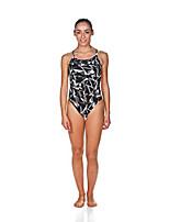 cheap -women's challenge back maxlife one piece athletic training swimsuit, black, 42