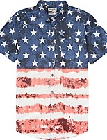 cheap -men's printed woven shirts, stealth dippin, x-large