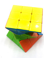 cheap -Speed Cube Set 1 pcs Magic Cube IQ Cube 3*3*3 Magic Cube Puzzle Cube Glossy Stress and Anxiety Relief Office Desk Toys Teen Adults' Toy Gift