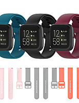 cheap -Sport Silicone Watch Band for Fitbit Versa 2 / Versa lite / Versa Replaceable Bracelet Wrist Strap Wristband