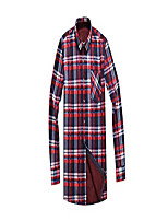 cheap -men's long sleeve shirts- thermal work padded warm shirts quilted lined flannel heavyweight plaid fleece shirt(xr517,s)