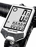cheap -bike computer, bicycle speedometer, cycling odometer, multifunctional & waterproof, smart touch backlight, hd digital lcd big display, auto power off & wake-up, easy to install & use, fits
