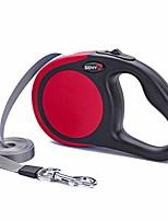 cheap -retractable dog leash for medium large dogs pitbulls bulldog automatic extending big dog leash durable pet walking lead (16ft, red)