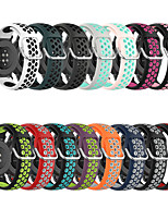 cheap -Sport Silicone Band For Samsung Galaxy Watch 3 41mm Loop Rubber Strap For Samsung Galaxy Watch Active 3/Galaxy Watch 42mm 20mm Bands