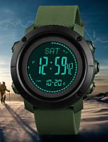 cheap -mens compass watch, digital sports watch pedometer altimeter barometer temperature military waterproof wristwatch for men women