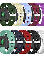 cheap -Soft Silicone Watchband For Garmin Forerunner 35 35J 30 / ForeAthlete 35J Smart Wristwatch Watch Strap Sports Bracelet Band