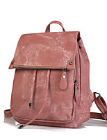 cheap -Travel Bag College Bookbag Large Capacity Waterproof Multipurpose Casual Outdoor Travel PU Leather Vintage Gift For Women 38*6*30 cm