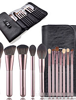 cheap -12 Pcs makeup brush set small grape makeup brush package full set of makeup