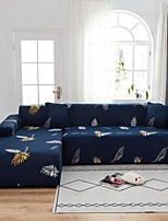 cheap -Leaf Print 1-Piece Sofa Cover Couch Cover Furniture Protector Soft Stretch Sofa Slipcover Spandex Jacquard Fabric Super Fit for 1~4 Cushion Couch and L Shape Sofa,Easy to Install