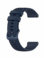 cheap -22mm silicone watch bands compatible for fossil men's gen 5 carlyle/gen 4 explorist hr/women's gen 5 julianna smart watch, replacement quick released sport fitness watch strap-navy blue