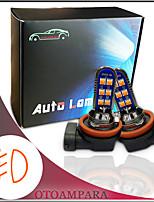cheap -OTOLAMPARA Car Fog Light Bulb H8 H9 H11 12W Red Color Lightness High Power Original Bulb Socket Plug and Play Installation Universal Car Models LED Fog Light PJG19-1 PJG19-5 PJG19-2