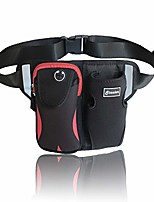 cheap -women waist bag fanny pack - men running belts for hiking/camping, with water bottle holder, pet walking bags with adjustable strap, outdoor bum bag