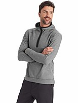 cheap -men's soft touch layer hoodie, forged steel grey heather, extra large