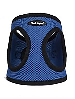 cheap -mesh step in harness, large, blue