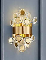 cheap -Crystal Wall Light Modern Bedside Wall Lamps for Aisle Corridor Parlor Dining Room Bedroom Baroque Luxurious Wall Sconces 27cmx45cm 20W