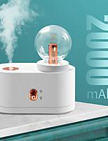 cheap -mini Humidifier USB mini Diffuser 2000mAh Battery Wireless Humidification Silent Air Humidifier Bedroom Office Diffuser
