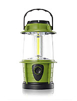 cheap -portable led camping lantern flashlight - dimmable - survival kit for emergency, power outage, hurricane, battery powered, green, 2 count