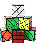 cheap -Speed Cube Set 6 pcs Magic Cube IQ Cube 3*3*3 Speedcubing Bundle 3D Puzzle Cube Stress Reliever Puzzle Cube Stickerless Smooth Office Desk Toys Windmill Ivy Skew Kid's Adults Toy Gift