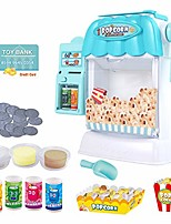 cheap -children's popcorn machine toys vending machine games, pretend play electronic drink machines with sound and light, fun gifts for kids, children, boys, girls