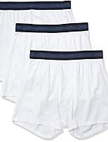 cheap -amazon brand - men's 3-pack lightweight performance knit boxer, bright white, xxx-large