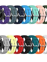 cheap -Watch Band for xiaomi watch color / Xiaomi Haylou Solar LS05 Xiaomi Sport Band Silicone Wrist Strap