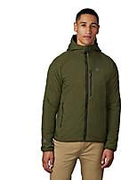 cheap -kor strata hooded jacket - men's dark army, xxl